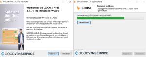 Installeren van GOOSE VPN