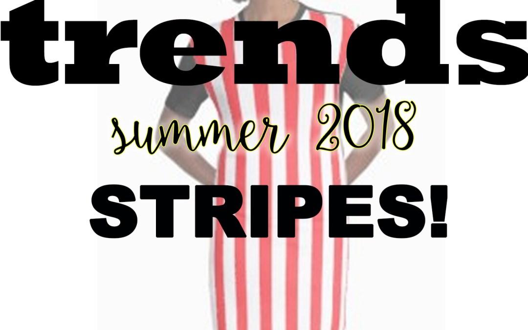 Trend Alert! Stripes!