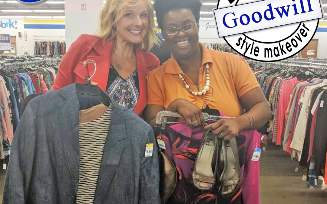 Goodwill Style Makeover – Charlene