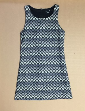 Chevron/zigzag shift dress from Forever 21 - $2