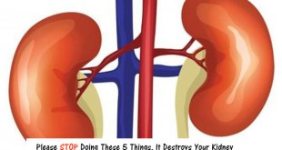 Please STOP Doing These 5 Things, It Destroys Your Kidney