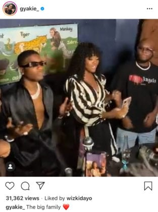 Wizkid, Gyakie and King promise