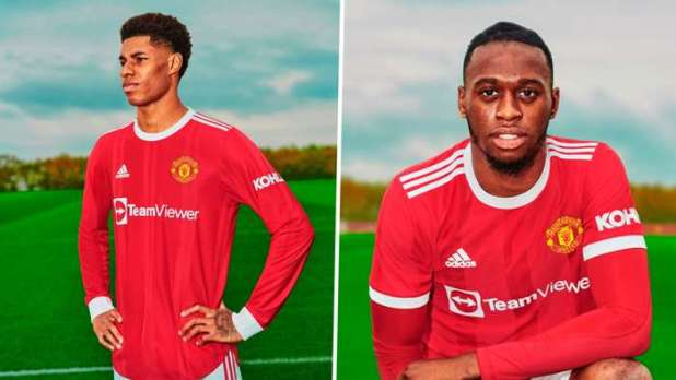 Manchester United Unveils New Jersey for 20212022 Season