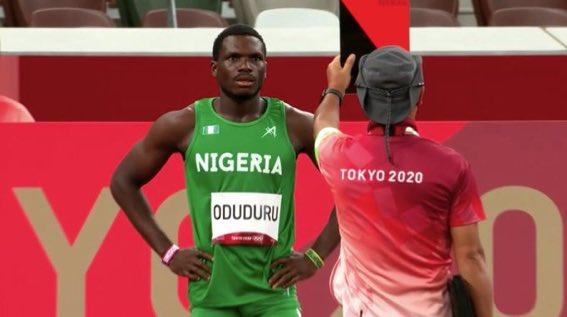 Tokyo2020 Nigerian Athlete Suspended From 100 Meters Heat