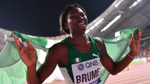 Ese Brume Wins A Medal for Nigeria At The Olympics