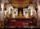 The Buddha shrine in the temple
