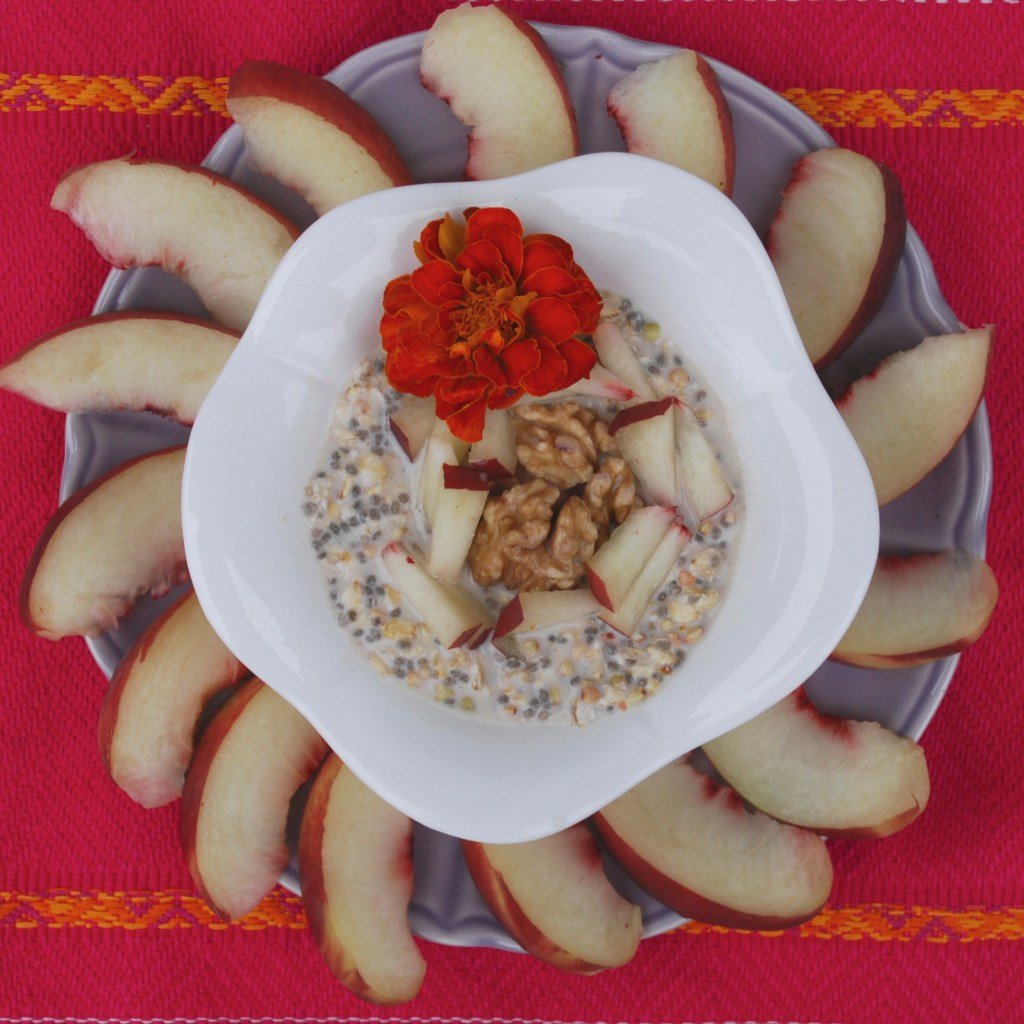 Peachy Chia Porridge