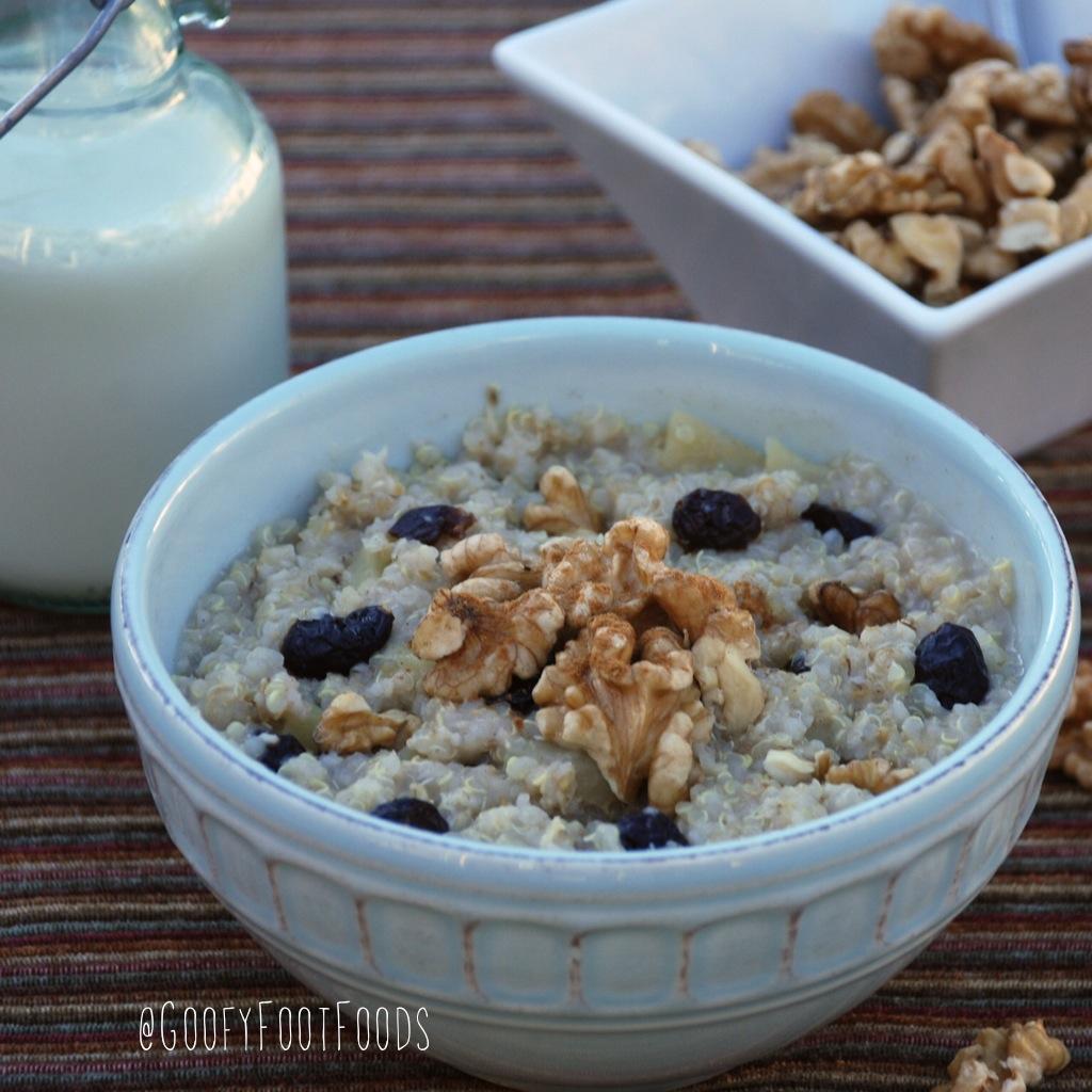 Quinoa and Apple Porridge