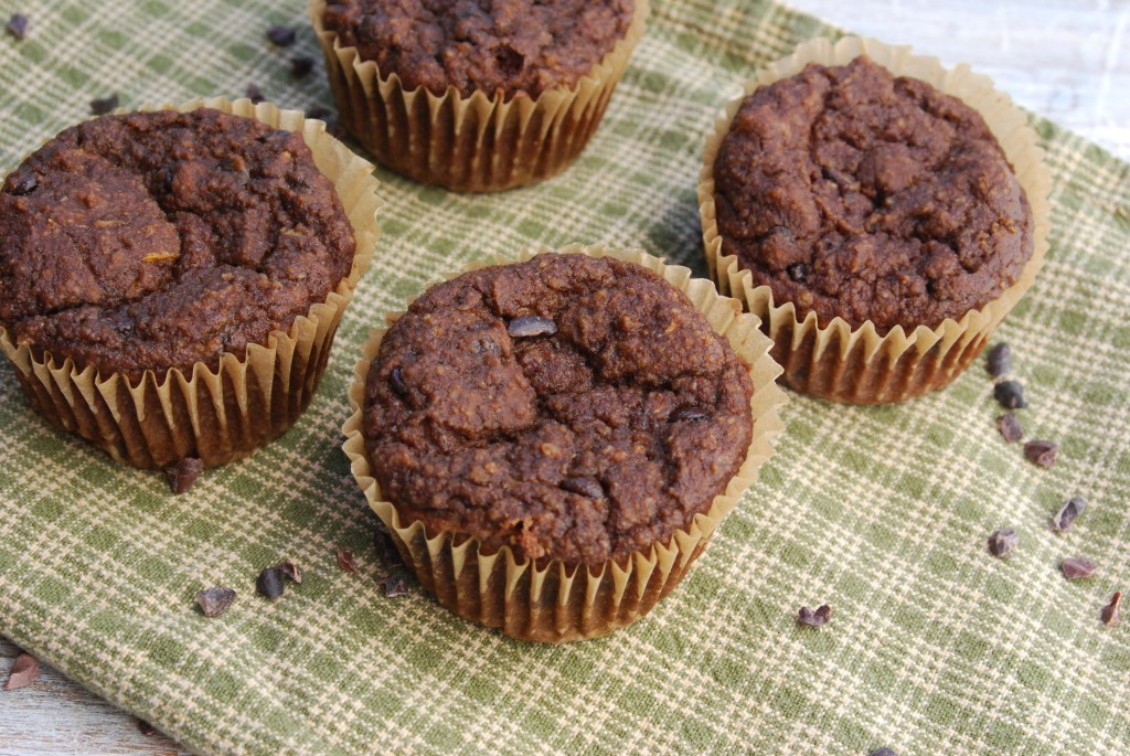 Veggie Boosted Choco Muffins