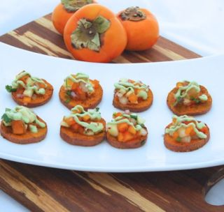 Spiced Sweet Potato Rounds