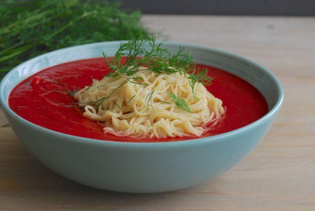 Vegan Borscht Ramen Bowls