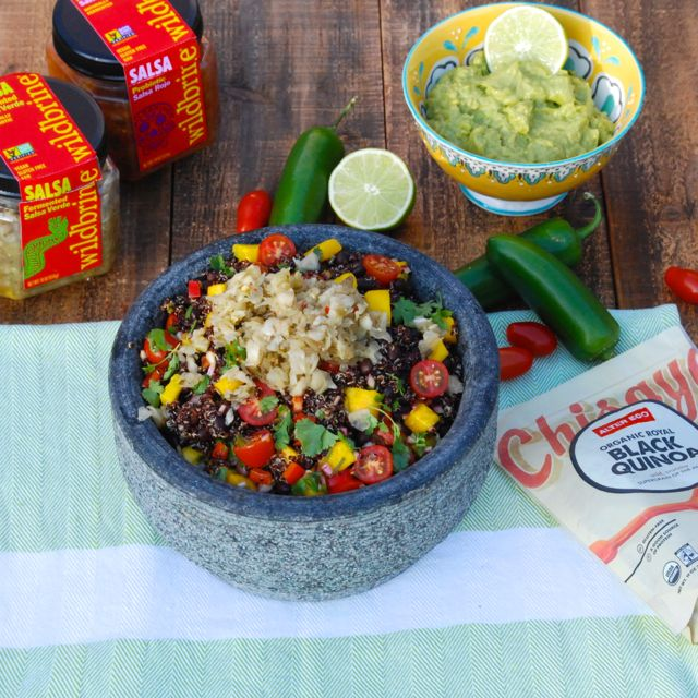 Black Quinoa Fiesta Bowl