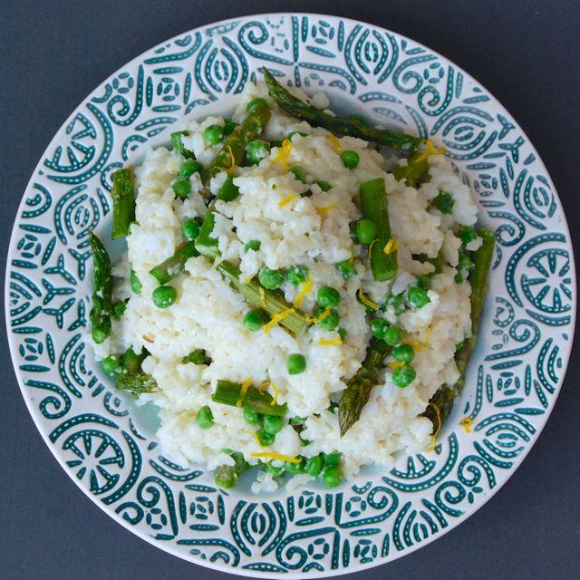 Creamy Springtime Carnaroli Rice