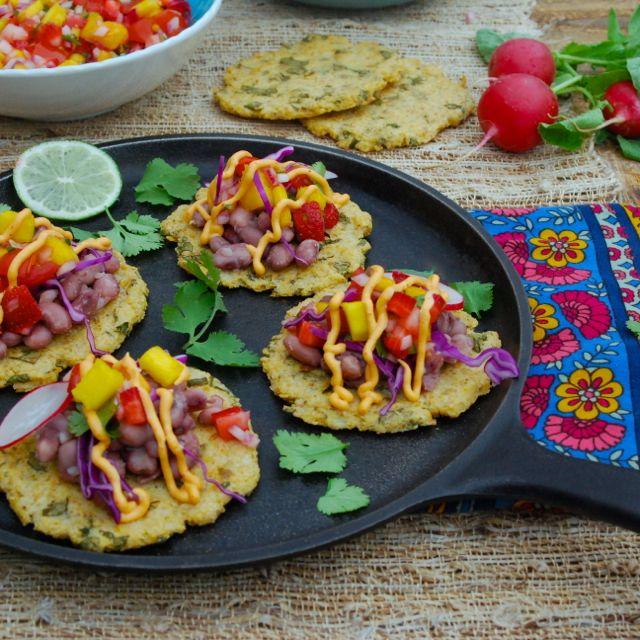 Anasazi Bean Tacos