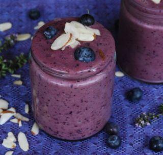 Blueberry Lemon Thyme Smoothies