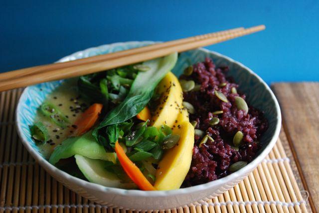 Vegan Green Curry Bowls