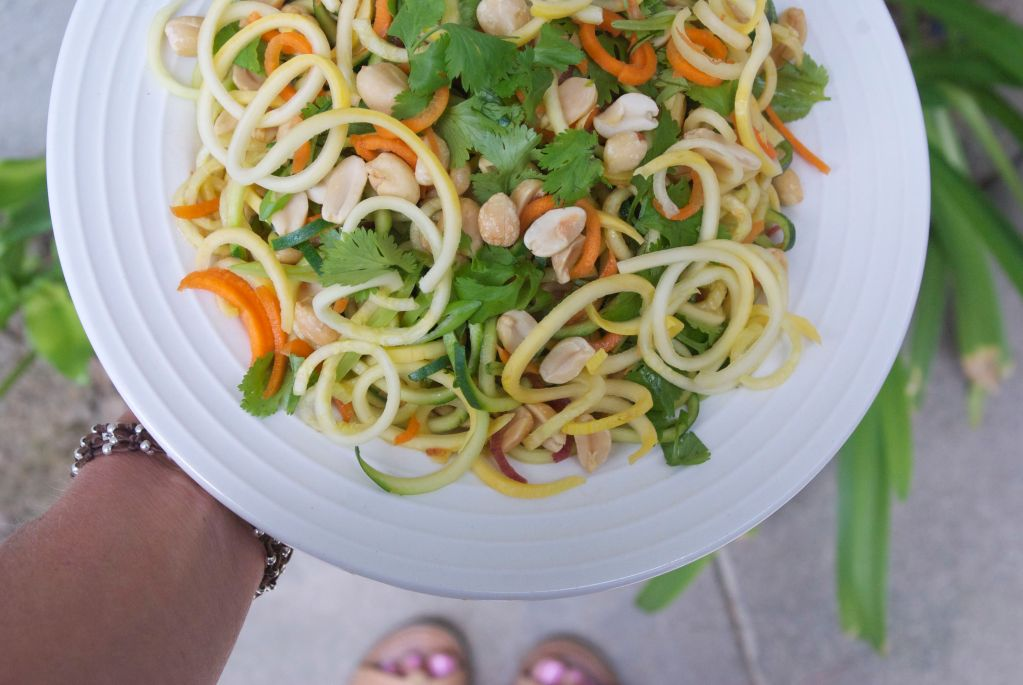 Raw Pad Thai Zoodles
