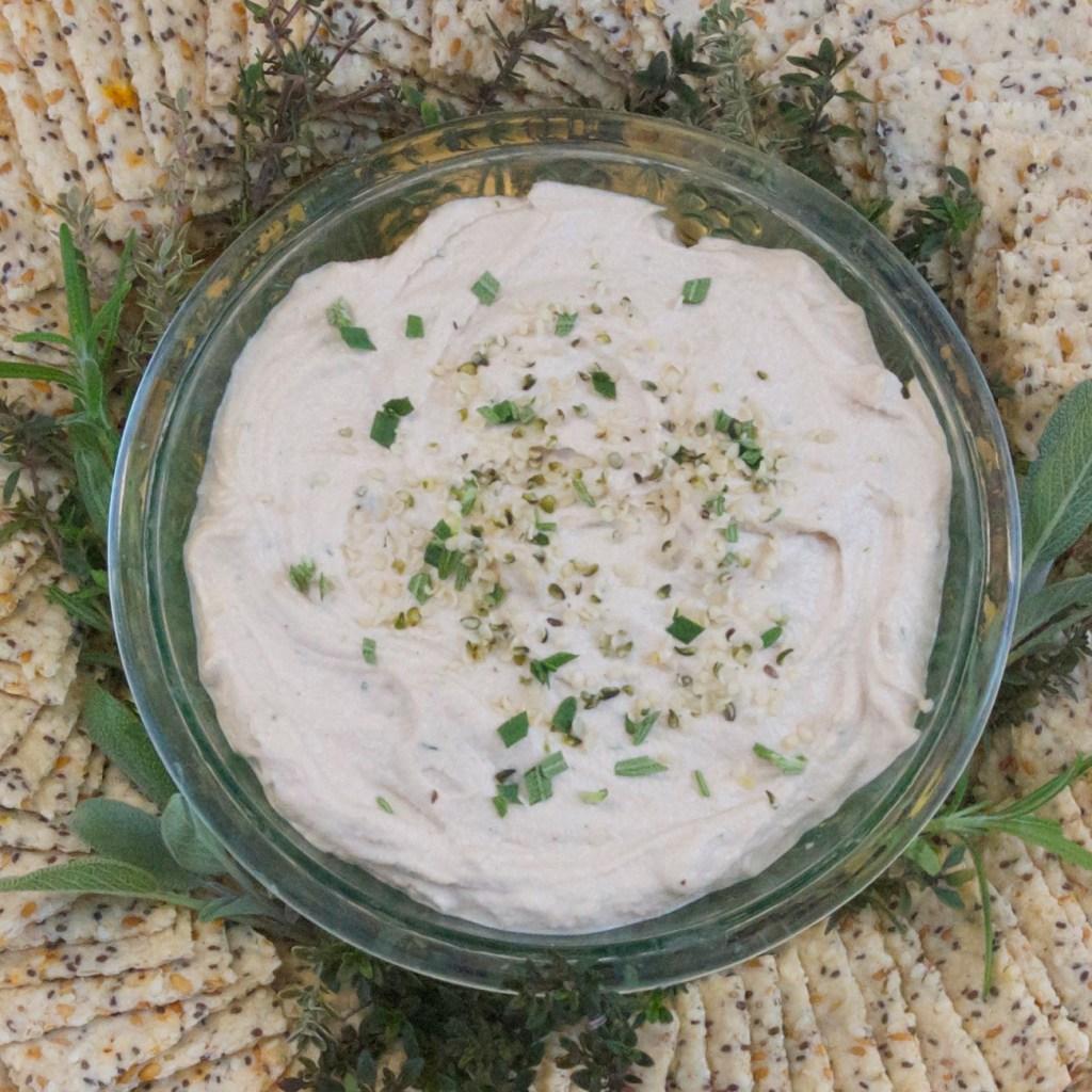 Herbed-Cashew-Cheese