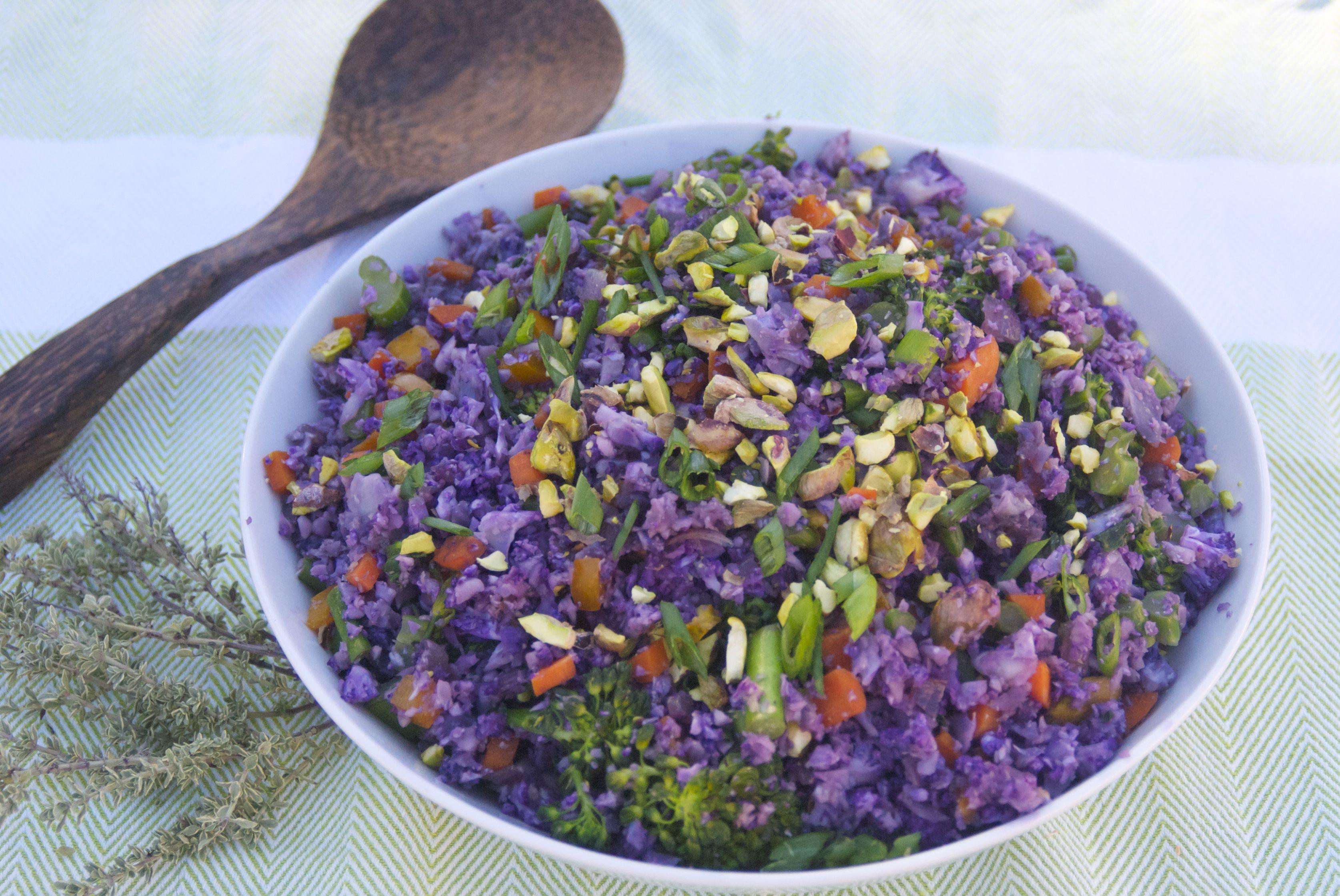 Purple-Cauliflower-Rice-Pilaf