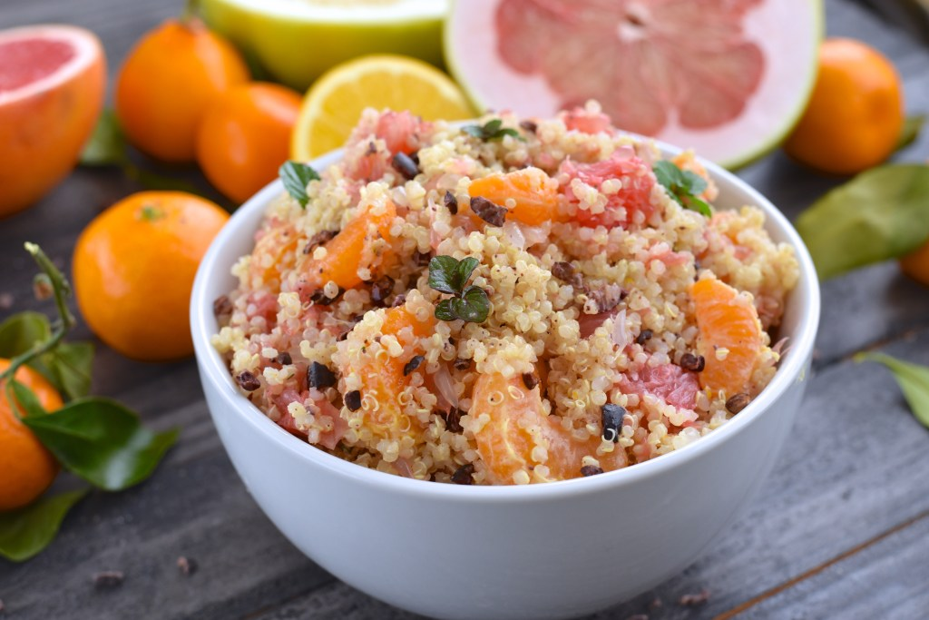 Winter Citrus Quinoa Salad