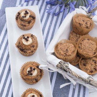 Gluten-free-vegan-banana-chocolate-chip-muffins