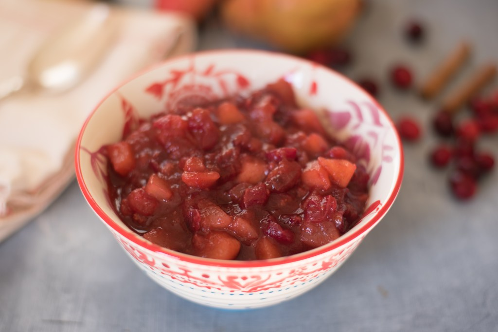 Simple Cranberry Chutney