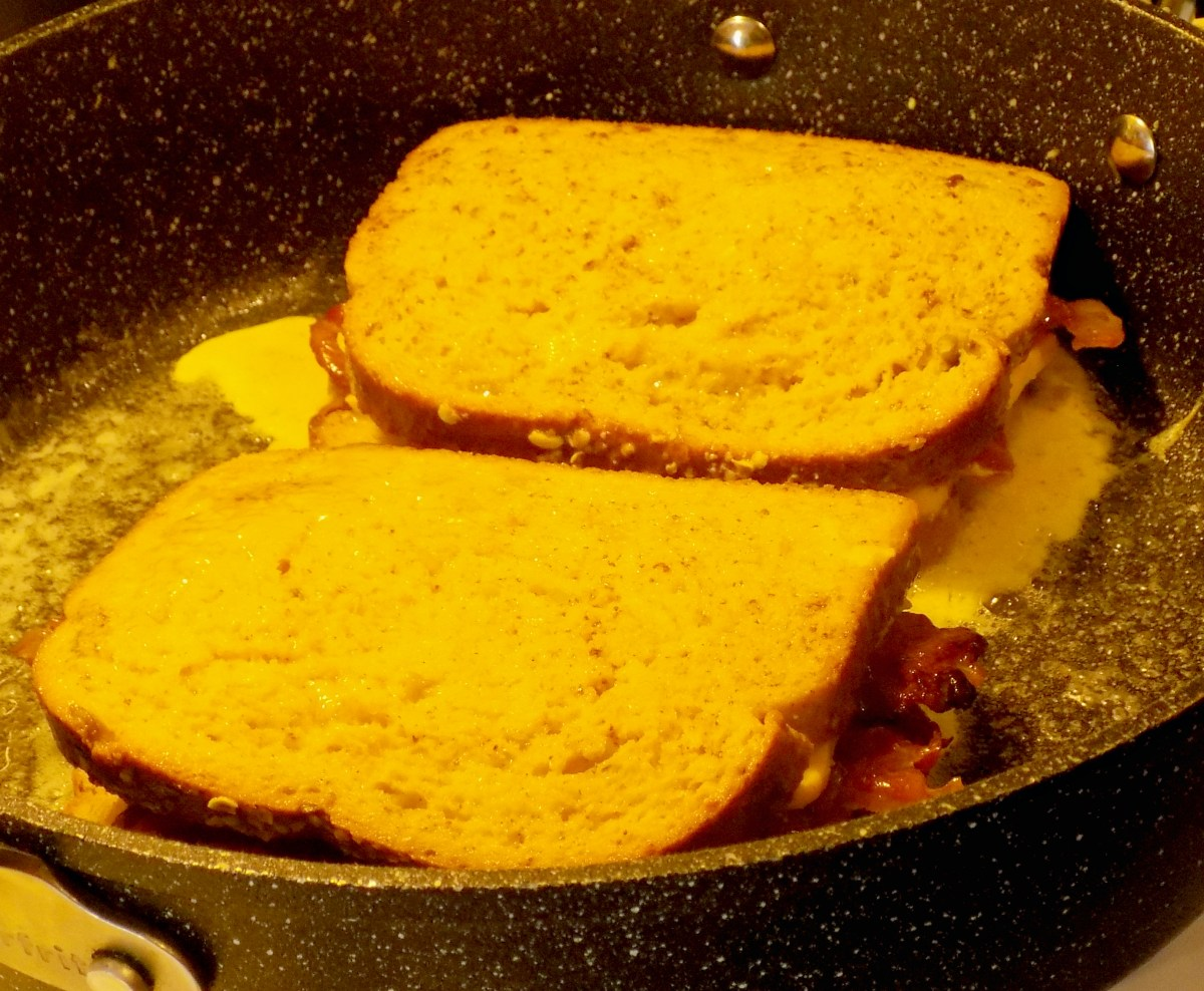 French Toast in Pan