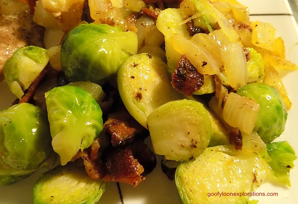 Brussel Sprouts With Bacon and Onions - Brussel Sprouts with Bacon 4
