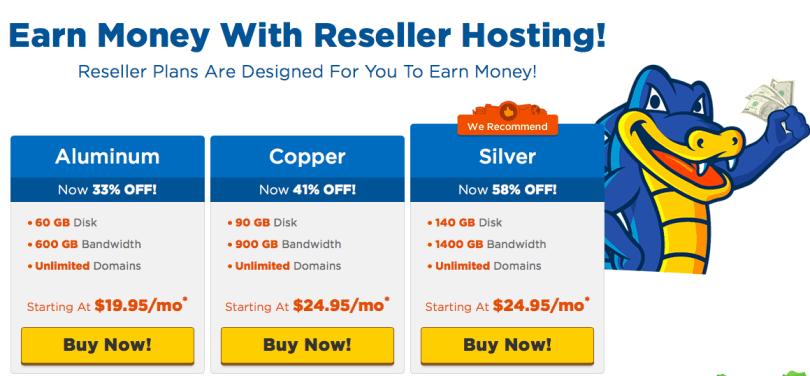 HostGator Reseller Hosting Plan