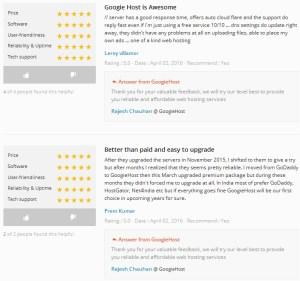 Rated 4.5 on Web Hosting Geek