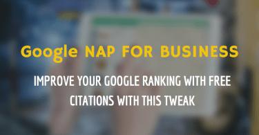 Google My Business NAP