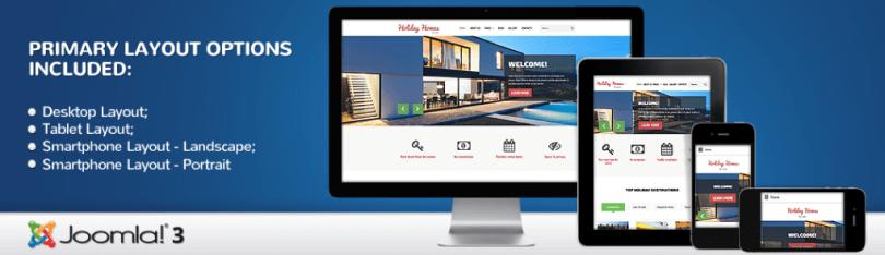 Joomla Real Estate Holiday Homes Theme.png