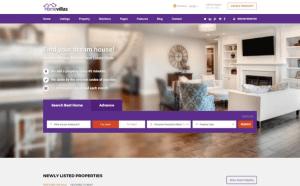 WordPress Real Estate Home Villas Theme