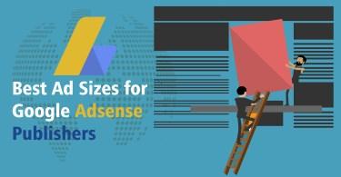 Google Adsense ad sizes