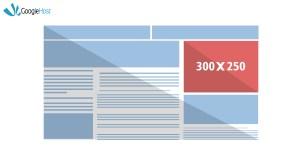 google ad size 300x250