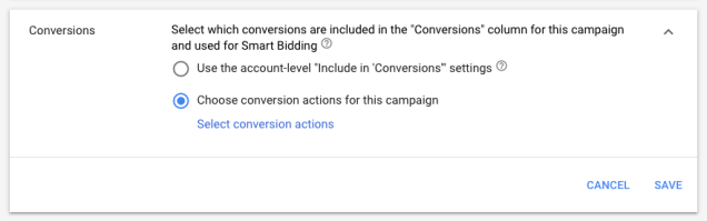Campaign-Level-conversion-action