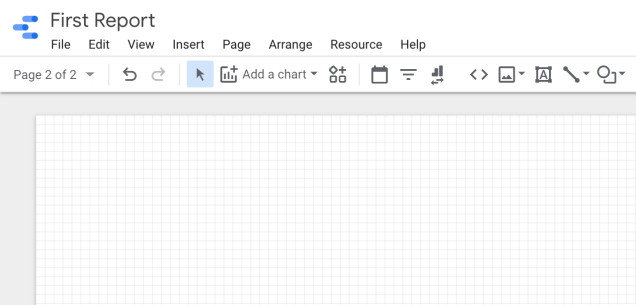 new-page-google-data-studio