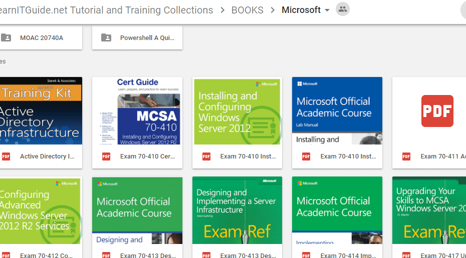 Microsoft Traning And Tutorials