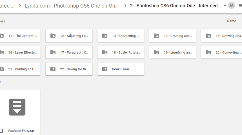 Photoshop CS6 One-on-One Complete (all 4 courses)