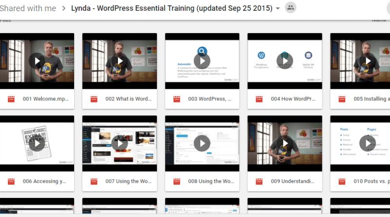 WordPress Essential Training
