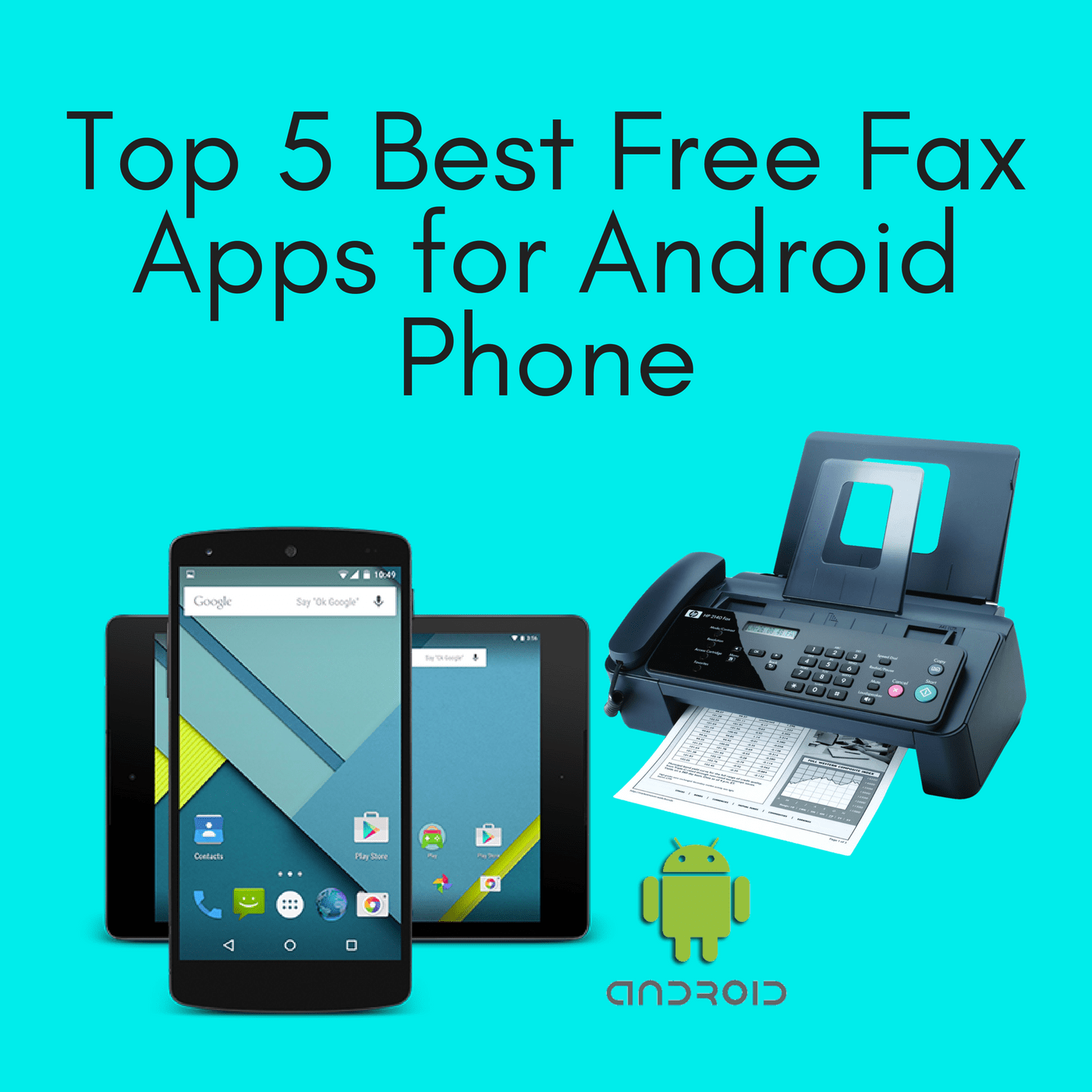 top 5 best free fax apps for android phone google fax free