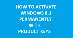 Windows 8.1 Product Keys & Activation Guides