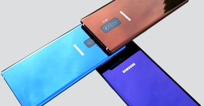 Samsung Galaxy Note 10 will be published in four versions