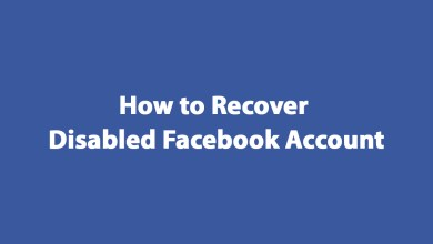 How to recover disabled Facebook Account 2019