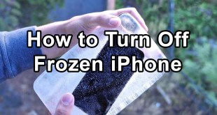 How to Power off Frozen iPhone 2019