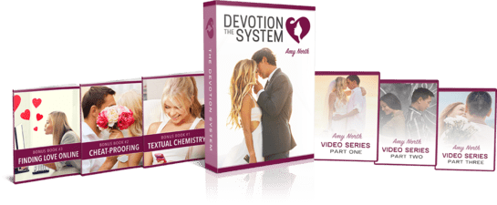 THE DEVOTION SYSTEM WOMEN'S SIMPLE TECHNIQUE TO MAKE MEN OBSESS OVER YOU
