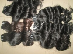 14-inch-hair-extensions-body-wavy-hair-machine-weft-3