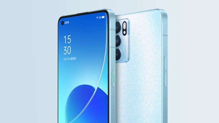 Oppo Reno 6 to debut Dimensity 900 chip, blue Enco X earbuds coming