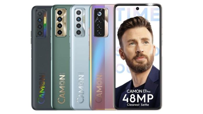Tecno Camon 17 Pro with 48MP selfie camera launched, Camon 17 tags along