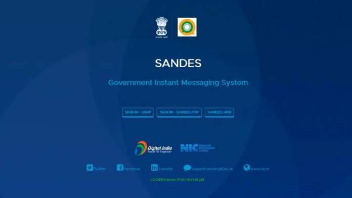 Govt brings Sandes instant messaging app to counter WhatsApp